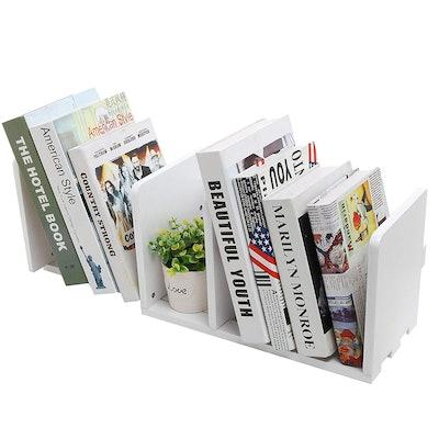 MyGift Expandable Bookshelf