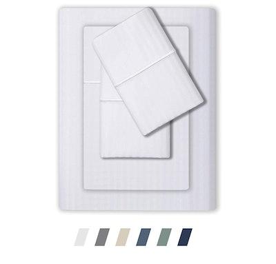 Feather & Stitch 500-Thread-Count Sheet Set