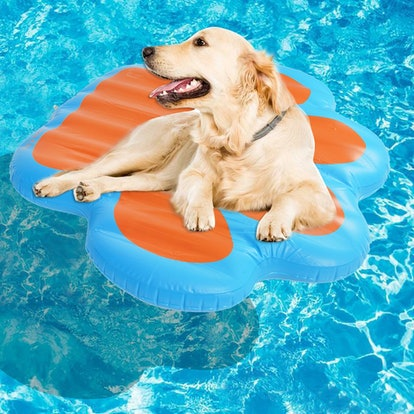 KOOLTAIL Paw Dog Pool Float