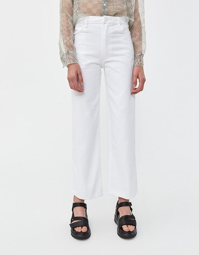 Wide Leg Jean In White