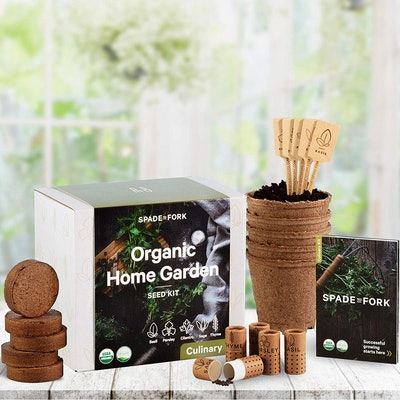 Spade To Fork Organic Herb Growing Kit