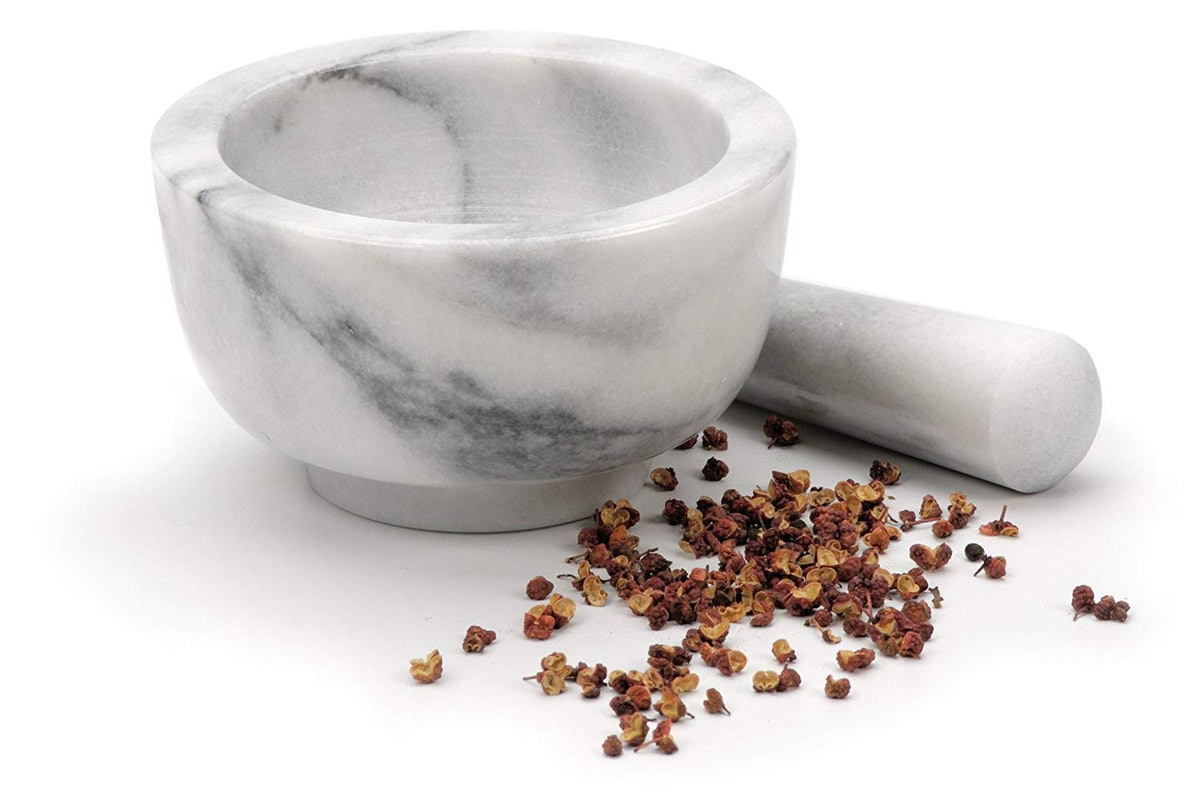 RSVP White Mortar and Pestle