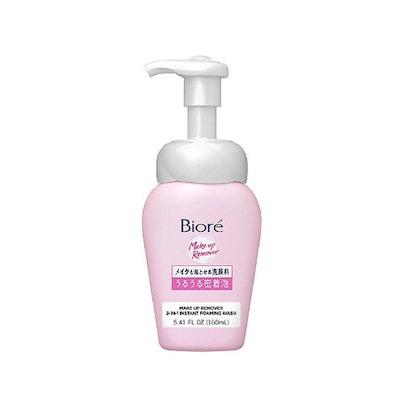 Bioré Makeup Remover 2-In-1 Instant Foaming Wash