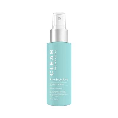 Clear Acne Body Spray