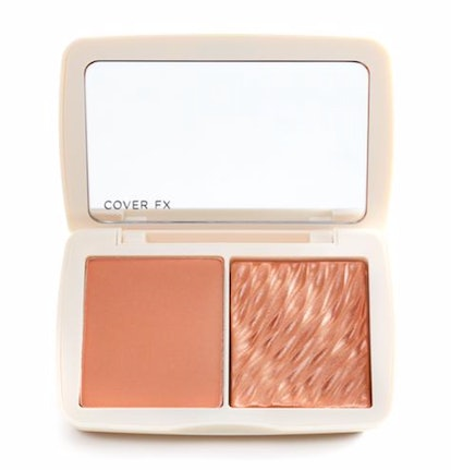 """Cover FX Monochromatic Matte + Shimmer Blush Duo in """"Warm Honey"""""""