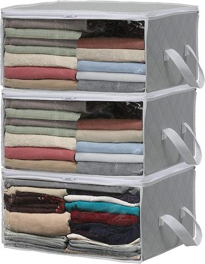 Simple Houseware Foldable Closet Organizer (3 Pack)