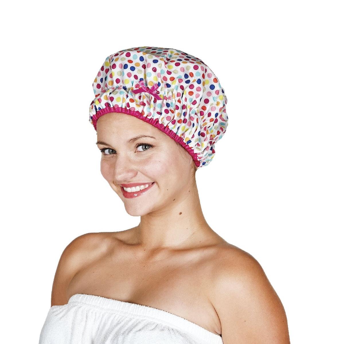 Betty Drain Fashionista Shower Cap