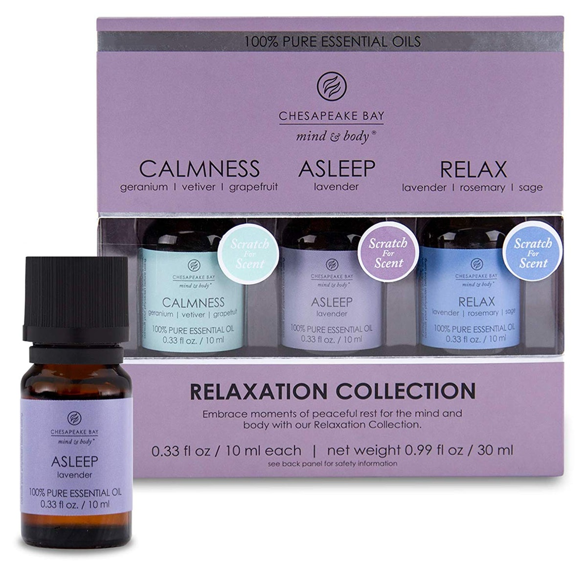 Chesapeake Bay Essential Diffuser Oils Relaxation Set (3 Pack)
