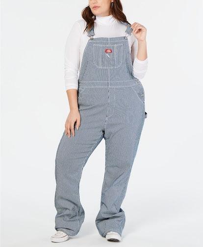 Dickies Trendy Plus Size Cotton Carpenter Overalls