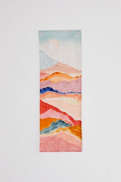 Painted Landscape Print Tapestry