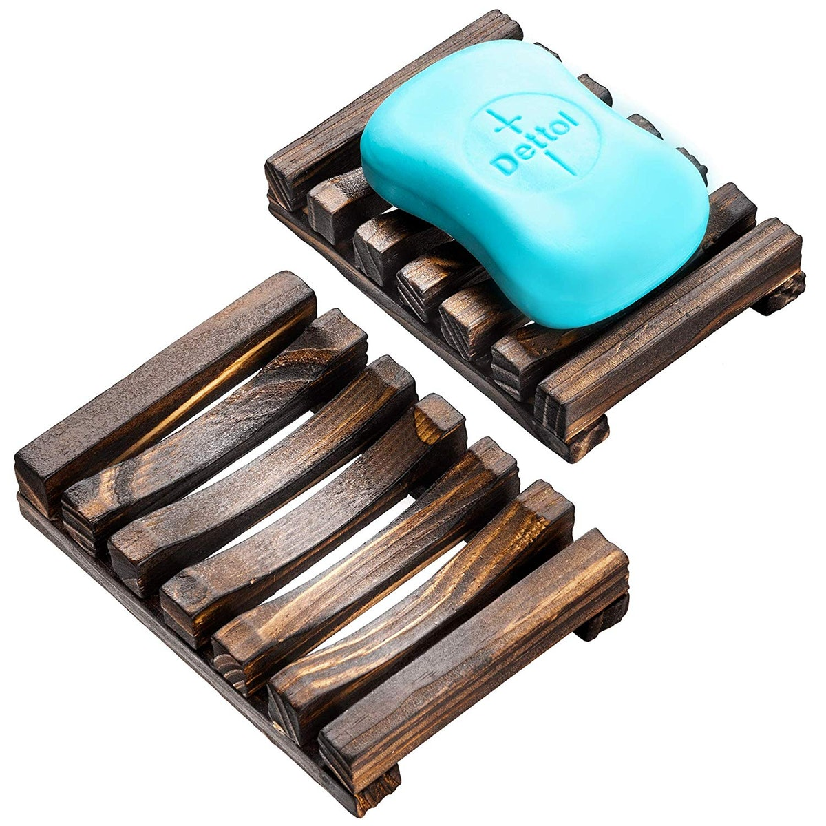 Wood Soap Dish (2 Pack)
