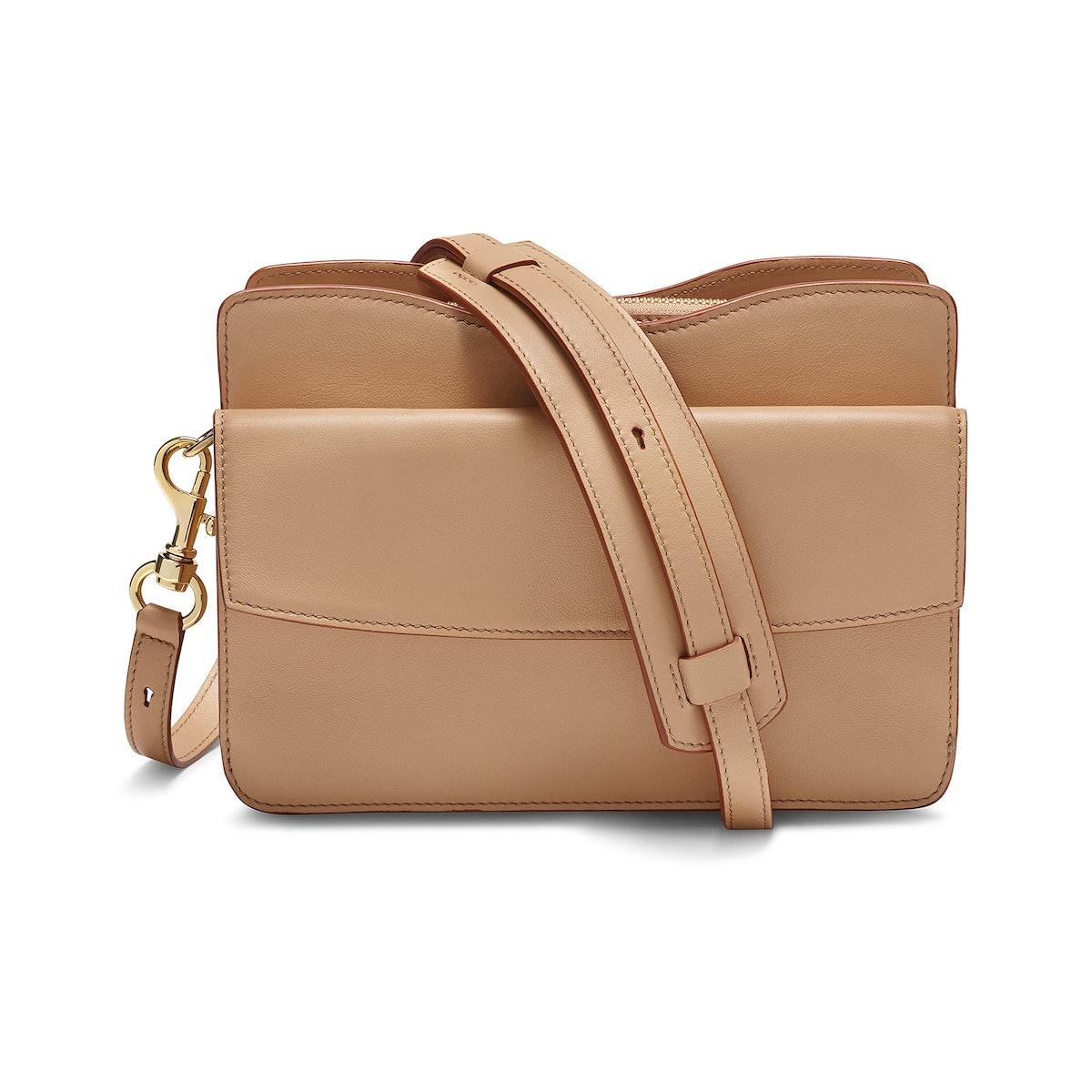 Accordion Satchel Bag