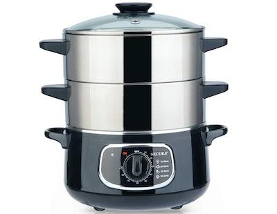 Secura 2-Tier Stainless Steel Electric Food Steamer