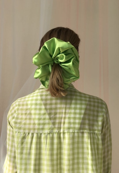 Giant Lime Scrunchie