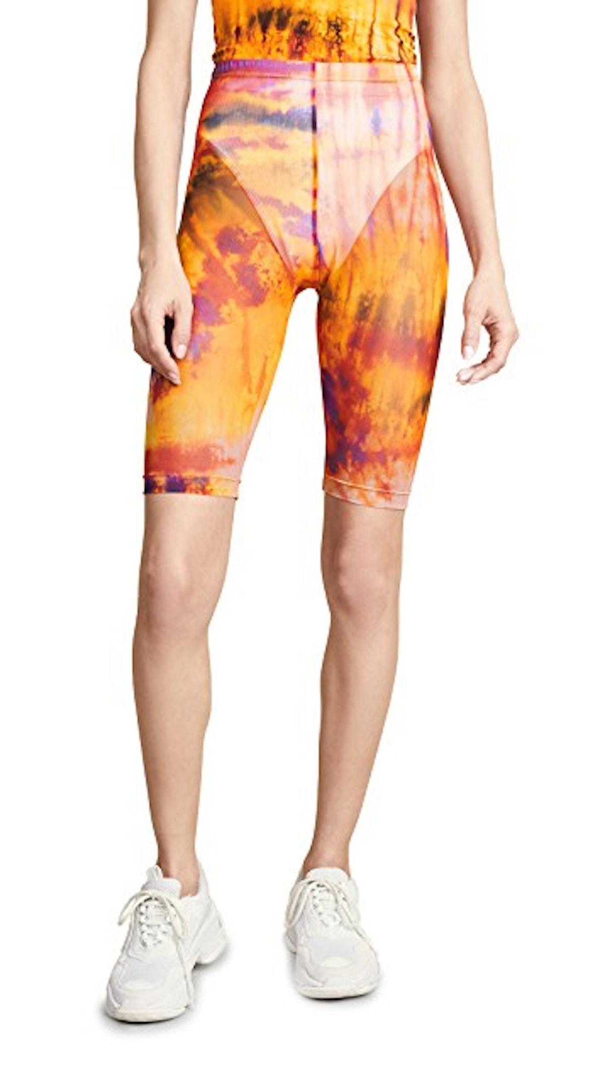 Tie Dye Bermuda Shorts