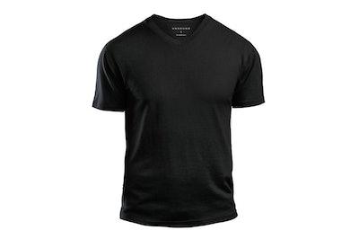 Merino Wool V-Neck T-Shirt