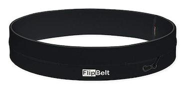 FlipBelt Classic Running Belt Fitness Accessory with Pockets & Internal Key Hook