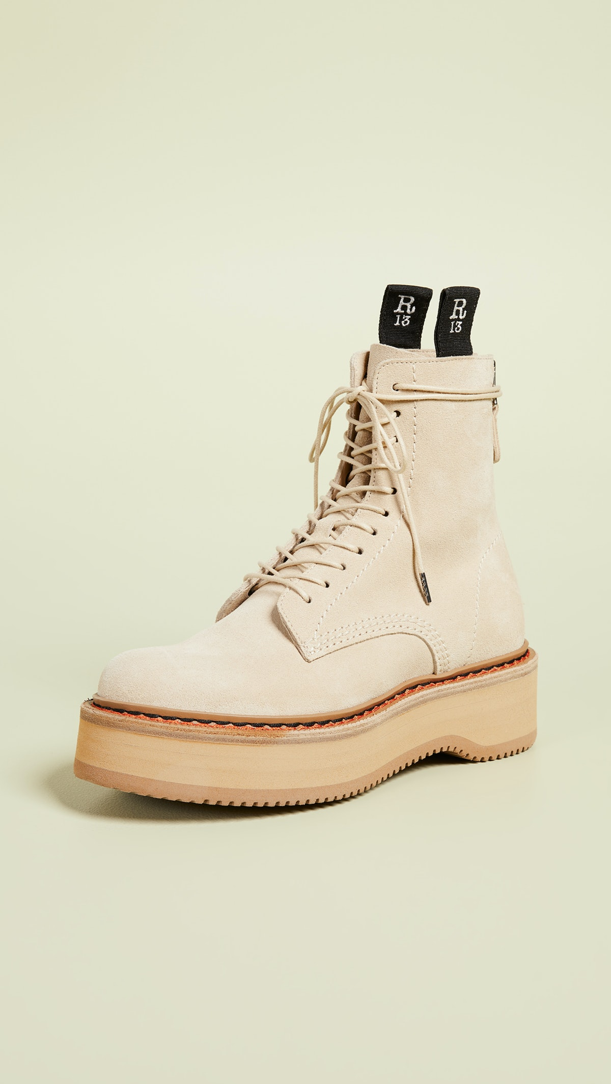 Single Stack Suede Boots