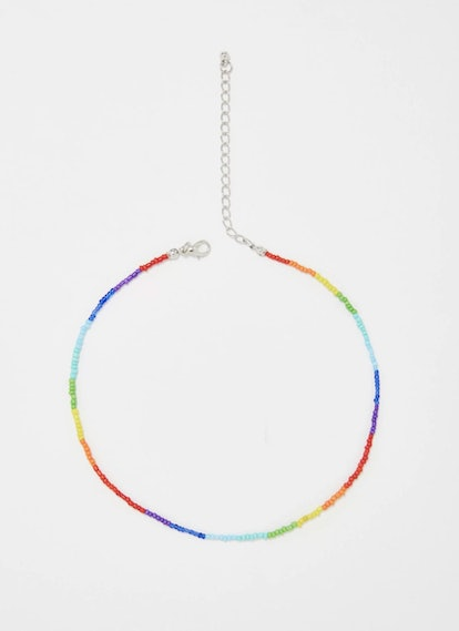 Rainbow Babe Beaded Choker
