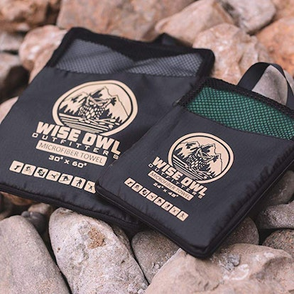 Wise Owl Outfitters Camping Towel (Set Of 2)