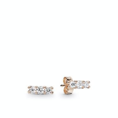 Sparkling Elegance Stud Earrings