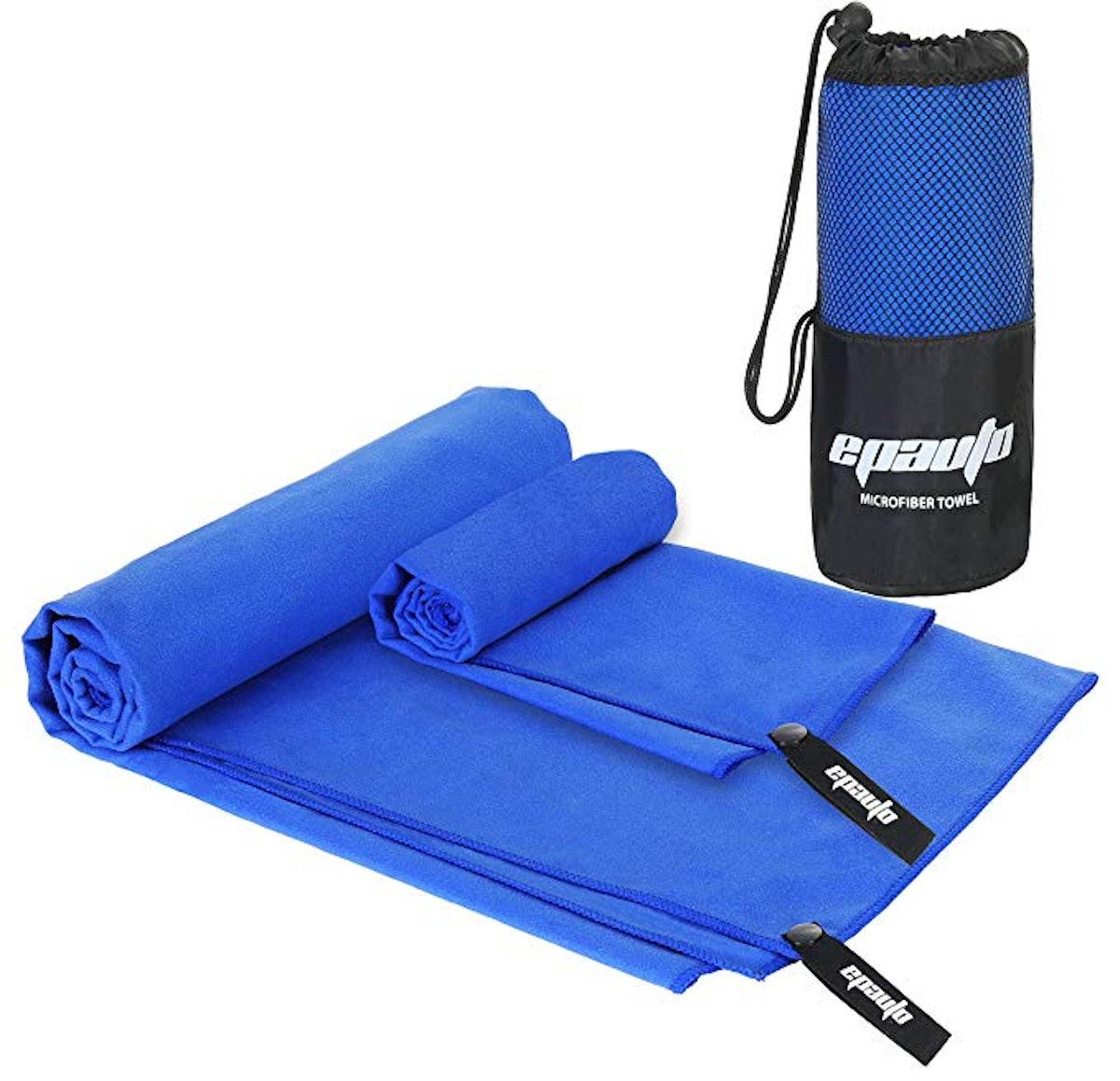 EPAuto Microfiber Fast Drying Towels (Set Of 2)