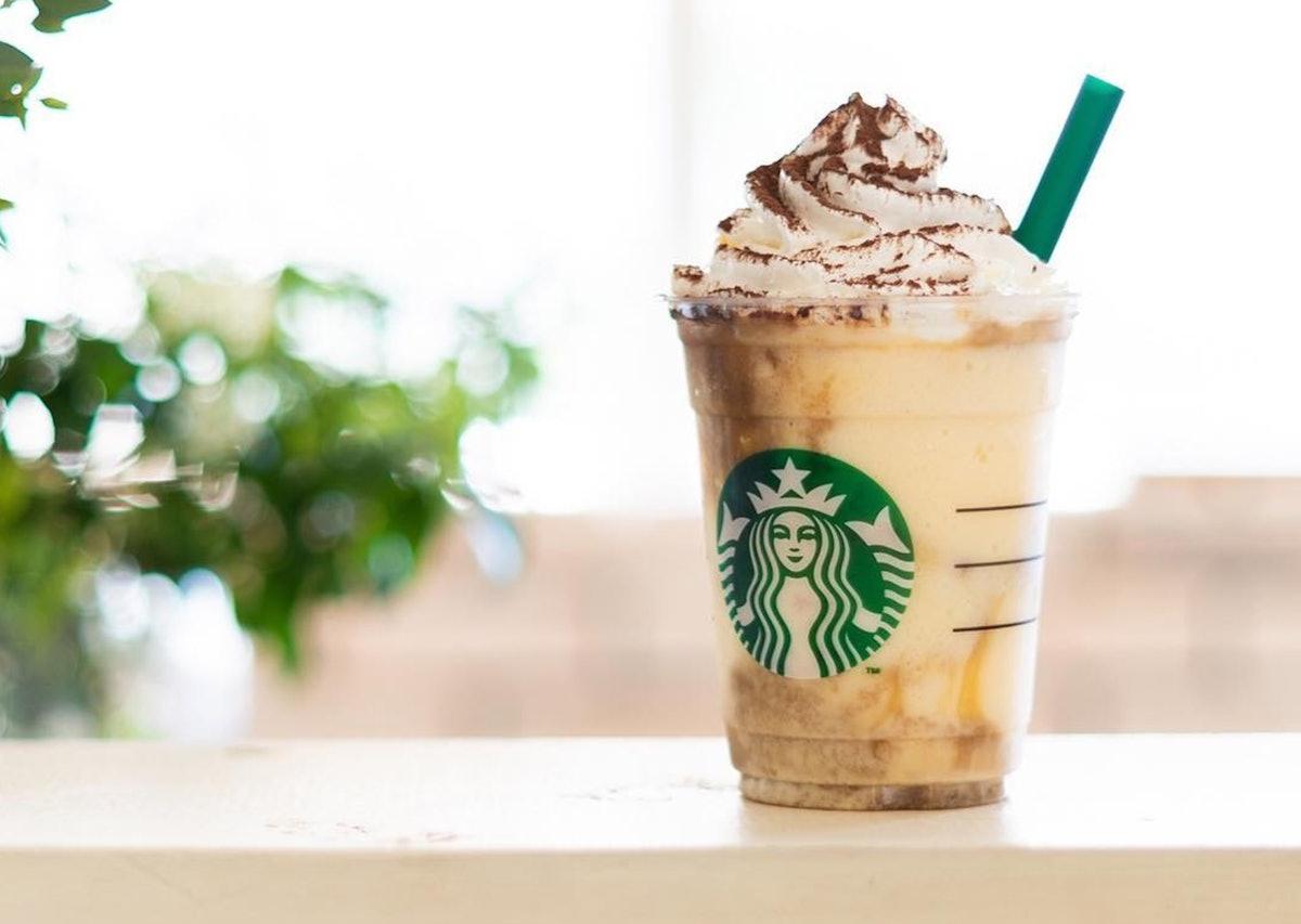 The Tiramisu Frappuccino At Starbucks Japan Has Actual Sponge Cake & Custard