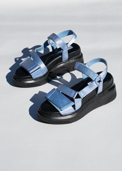 Velcro Platform Sandals