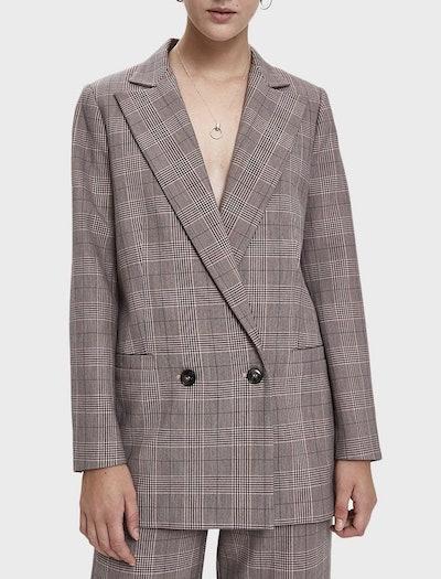 Suiting Plaid Blazer
