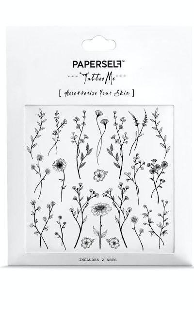 Wildflower Temporary Tattoo