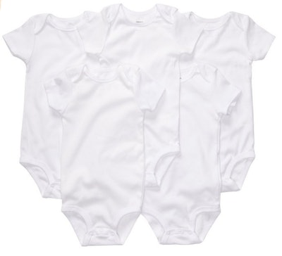 Carter's Unisex-Baby 5 Pack Short Sleeve Bodysuits