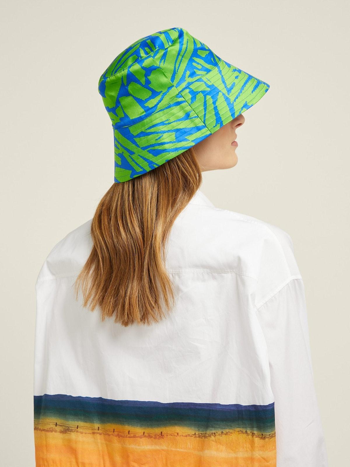 Holly Satin Bucket Hat