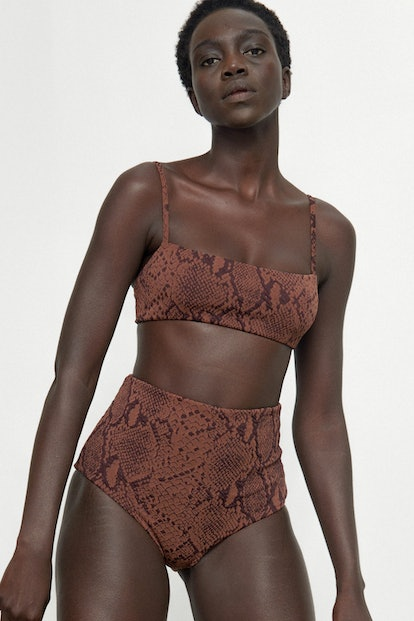 Snake Jacquard Sia Top and Lydia Bottoms