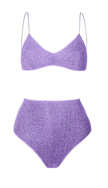 High-Waisted Lumière Bikini