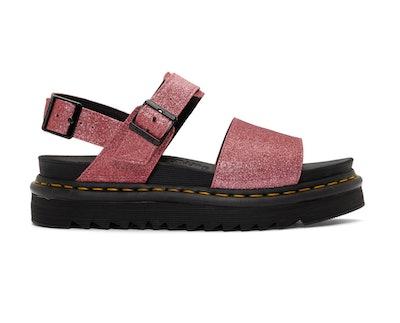 Pink Glitter Voss Sandals