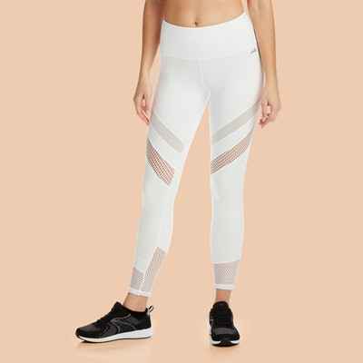 Mesh Mixed Legging 7/8 Legging