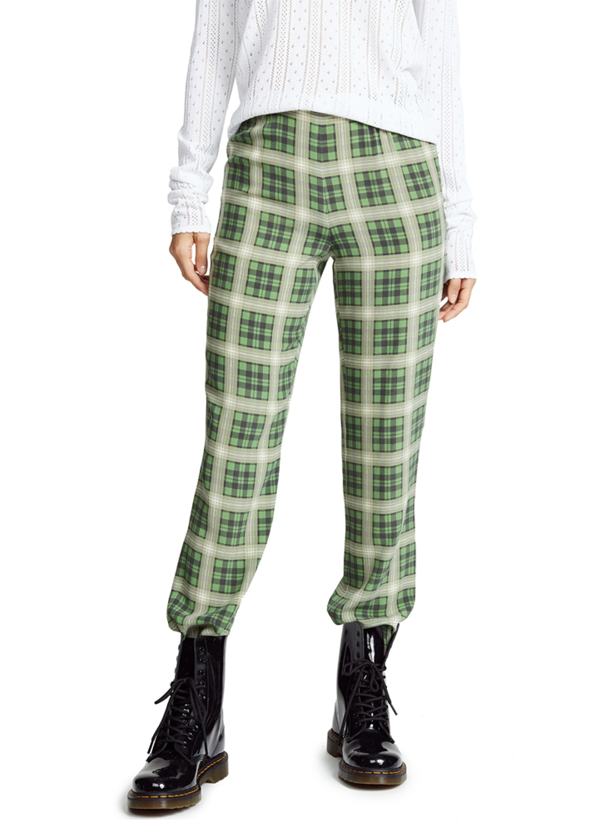 Redux Grunge Plaid Trousers