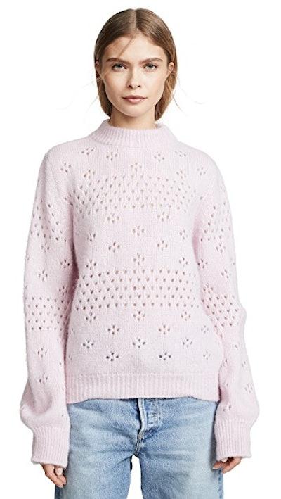 Candice Sweater in Rose