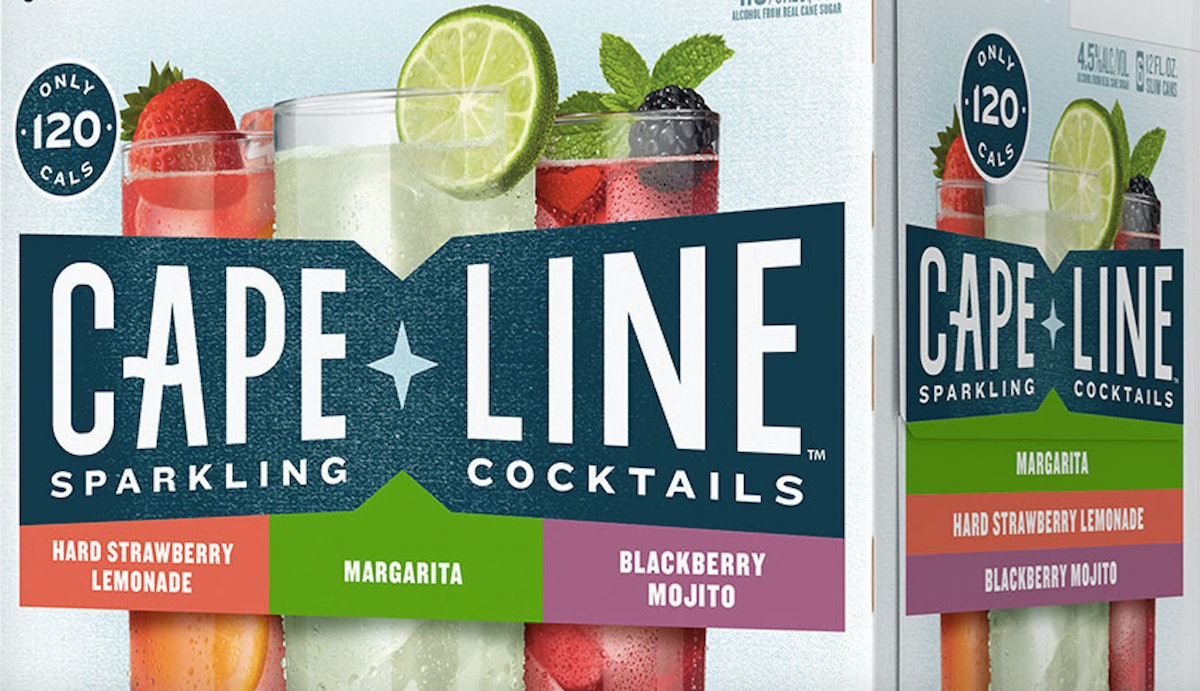Cape Line's Sparkling Cocktails From MillerCoors Come In Cans So You Take Your Fave Drink On-The-Go