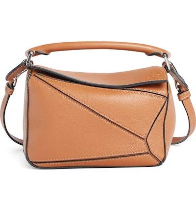 Mini Puzzle Calfskin Leather Bag