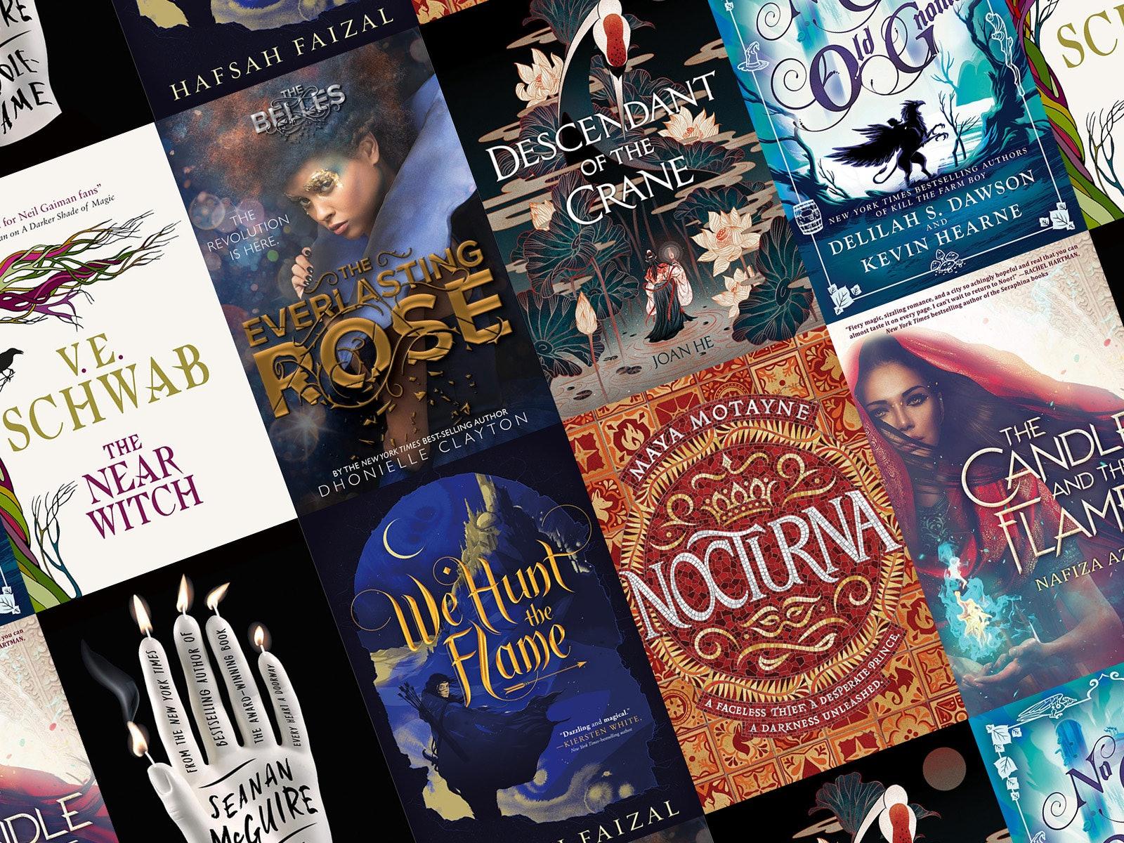 19 New Fantasy Novels For Your Spring Reading List
