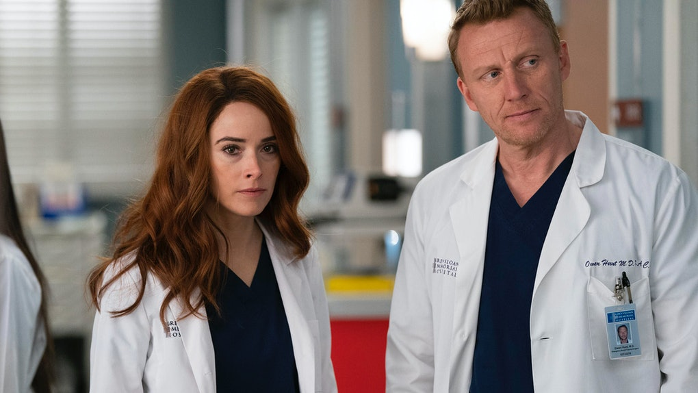 Owens Sister Megan Is Back On Greys Anatomy, But Its