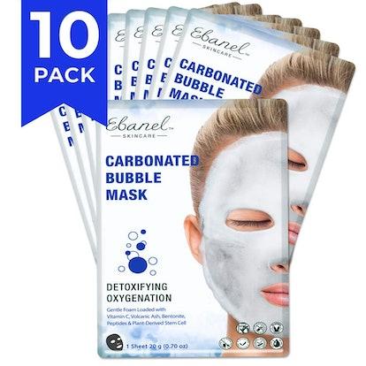 Ebanel Laboratories Bubble Sheet Mask (10 Pack)