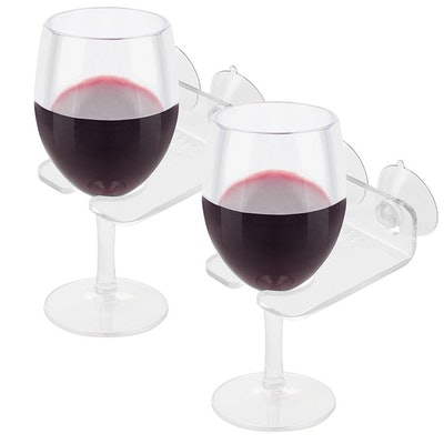 Bathtub Wine Glass Holders
