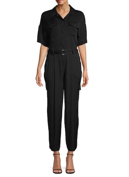 Charlie Stretch Silk Jumpsuit