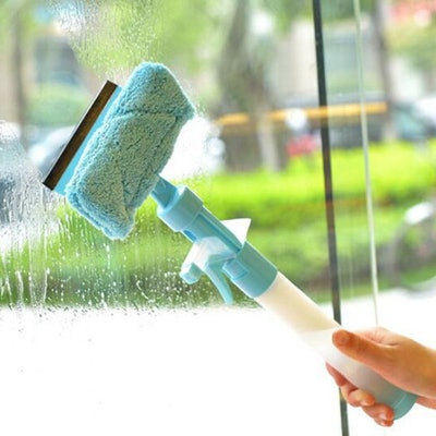 3-in-1 Spray Squeegee Microfiber Window Cleaner
