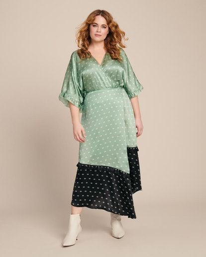 Veda Tuscan Printed Silk Dress
