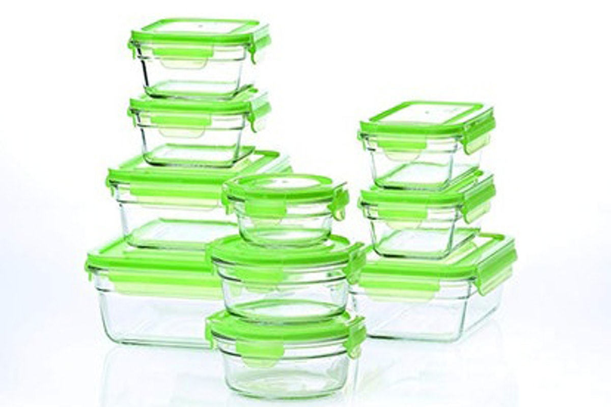 Snapware Tempered Glasslock Storage Containers (10-Piece)