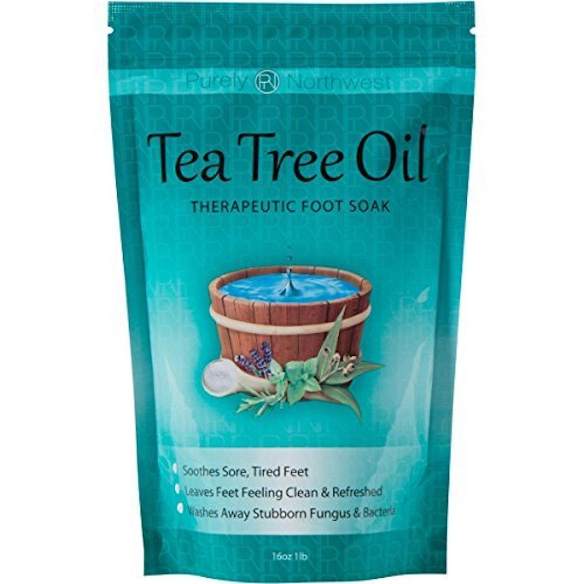 Purely Northwest Tea Tree Oil Foot Soak (16 Ounces)