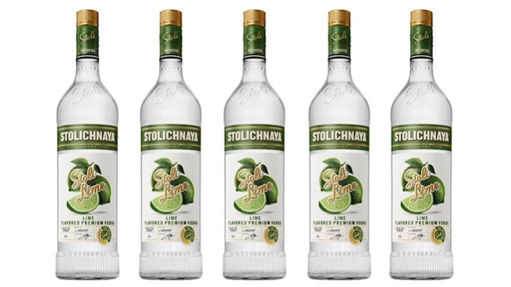This Stoli Lime Flavored Vodka Is Here